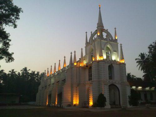 Mae De Deus, Saligao